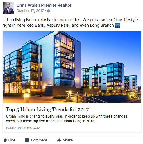 Real Estate Brand Social Media