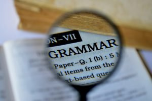importance of grammar in content