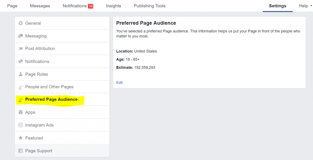 How to find preferred page audience to better your organic Facebook reach.